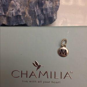 """NEW """"M"""" CHARM CHAMILIA CHARM BRACELET LETTER M"""